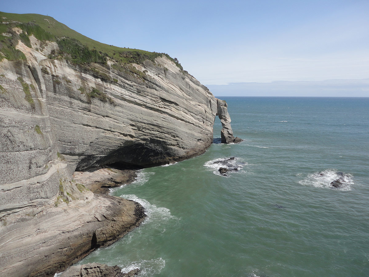 New Zealand | Cliffs And The Sea