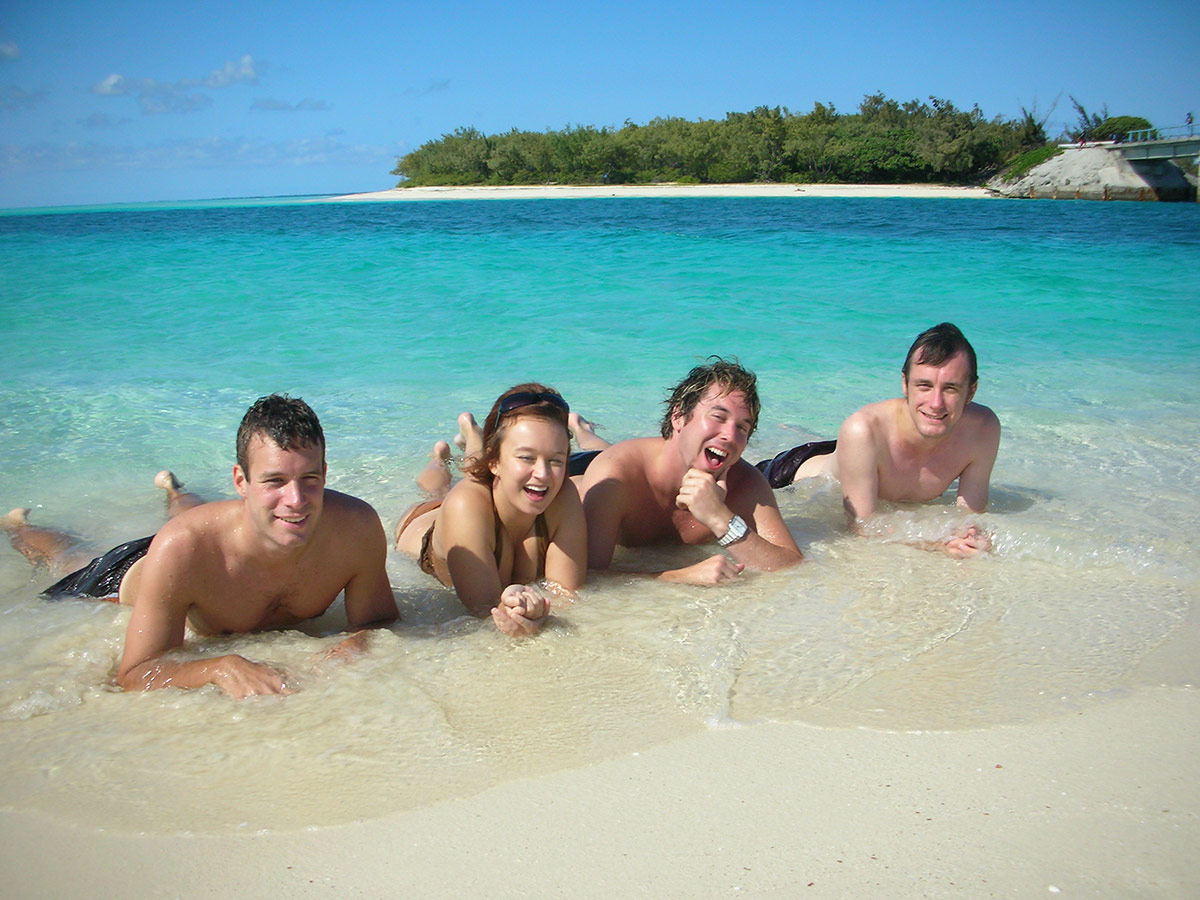 Ouvea New Caledonia | Crew In The Sand