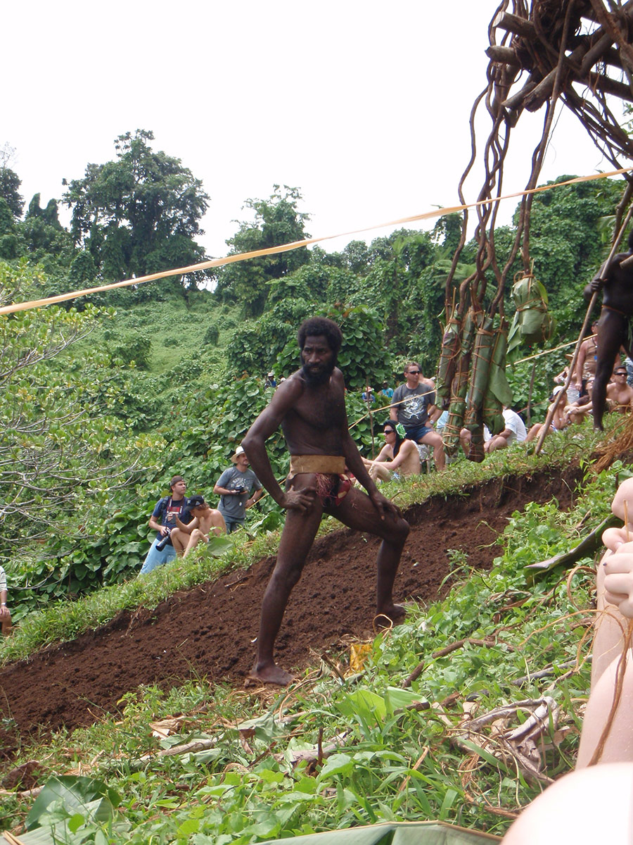 Vanuatu Land Divers | Getting Ready To Jump